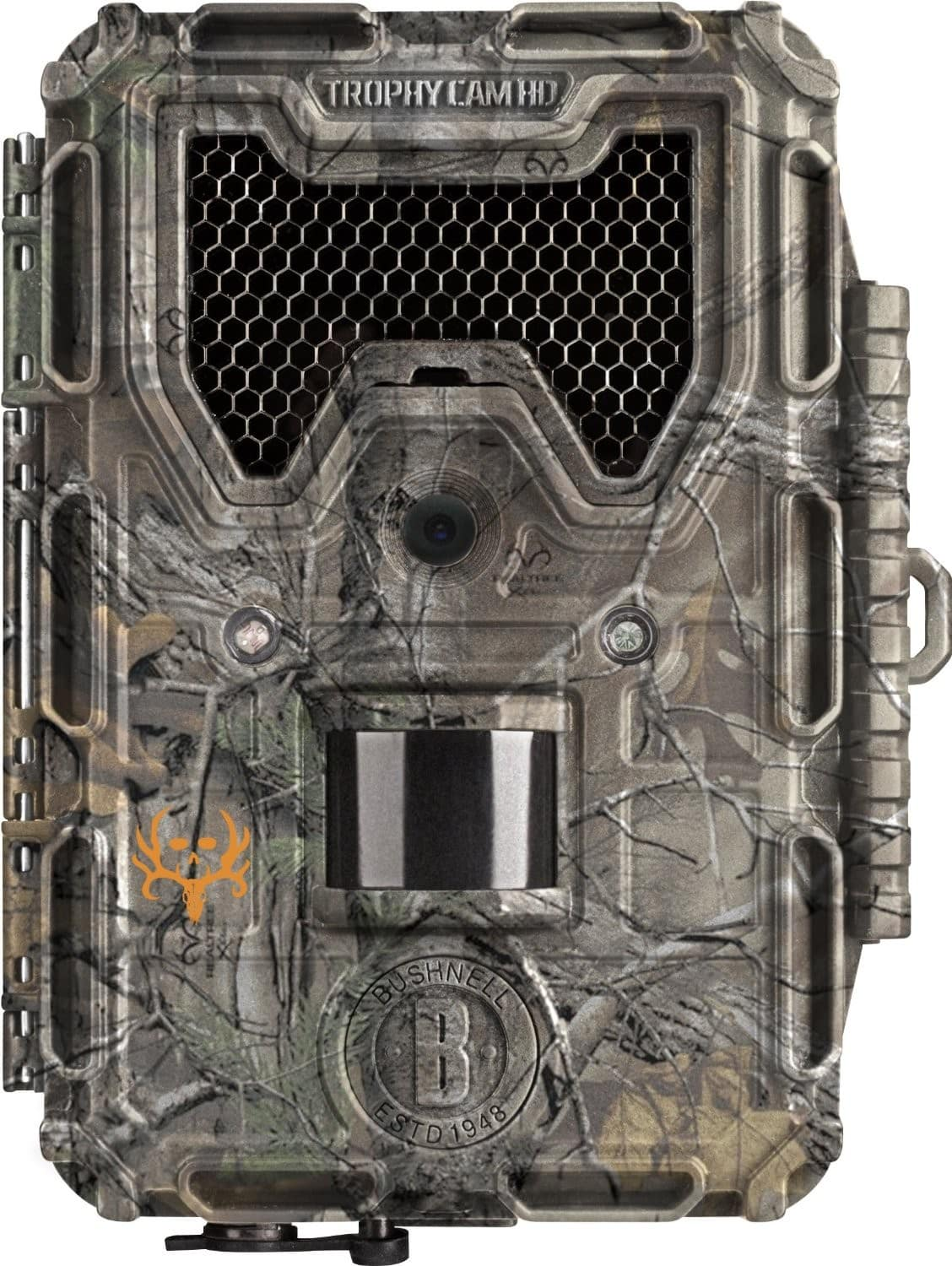 Bushnell 8MP Trophy Cam HD Bone Collector Edition Black LED Trail Camera with Night Vision
