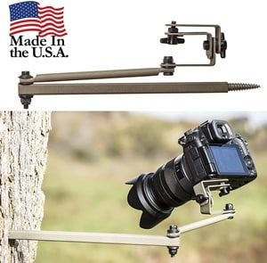 Hold Up Displays Camera Mount Hunting Video Pivoting Shot Cam Tree Stand Accessory