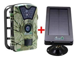 MyCommand Solar Trail Camera 12MP Animal Game Time Lapse Cam