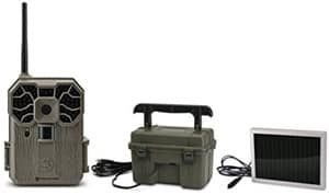 Stealth Cam GXW Combo STC-GX45NGW12V Trail Cam with Batteries Solar Powered