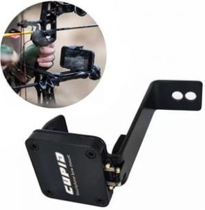e5e10 Bow Phone Mount for the Use of Camera of iPhone, Samsung, GoPro Smartphone Bow Holder Accessory