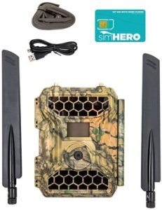 4GLTE Wireless Trail Camera - Snyper Cellular Trail Cameras 12MP 1080P Wireless Trail Camera