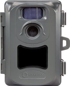 Simmons 5MP Whitetail Blackout No-Glow LED Trail Camera with Night Vision